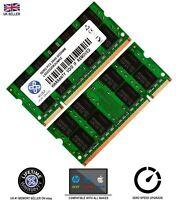 Memory RAM 4 Laptop DDR2 6400 PC2 800 MHz Sodimm Notebook 200 PIN CL6 2 x LOT GB