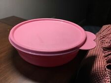Tupperware Cereal Bowl Food Keeper 2415A Rose Pink