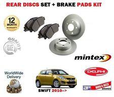 für Suzuki Swift 1.2 VVT 1.3 TD DDiS 2010- > Bremsscheiben SET HINTEN +