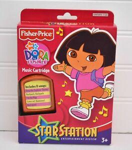 NEW Fisher Price STAR STATION Dora the Explorer Music Cartridge 8 Songs