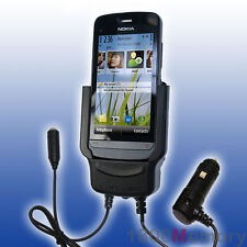 Carcomm Power Cradle for Nokia C5-03 Mobile Car Charger Kit with Antenna Coupler
