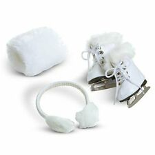 American Girl Doll Molly's Ice Skates & Muffs Brand New Retired NRFB