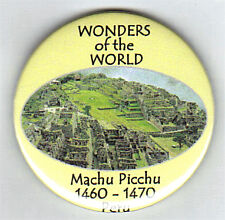MACHU PICCHU IN PERU - 58mm FRIDGE MAGNET - BRAND NEW
