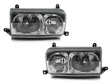 DEPO 91 92 93 94 95 96 97 TOYOTA LAND CRUISER FJ80 EURO CLEAR HEADLIGHTS SET
