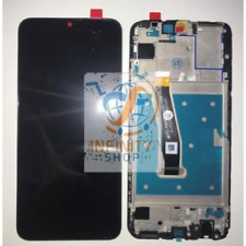 VETRO DISPLAY LCD TOUCH SCREEN SCHERMO FRAME HUAWEI P SMART 2020 POT-LX1A NERO