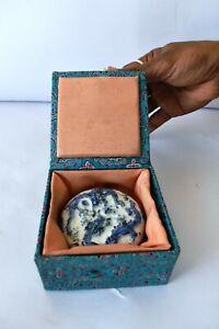Vintage Chinese Seal Paste Box Case dragon Miniature Powder BOX Porcelain Old K2