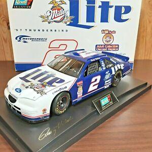 Rusty Wallace #2 Miller Lite 1997 Ford Thunderbird Revell 1:18 Diecast NASCAR