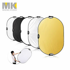 Meking 5in1 Light Mulit Collapsible Portable Photography Reflector Disc 60x90cm