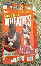 Wheaties General Mills Cereal Box - Clyde Drexler Portland Trail Blazers