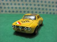 ALFA ROMEO GIULIA  GTAM 2000 coupè Coppa Carri 1972 - 1/43 Progetto K 2006