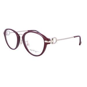 Salvatore Ferragamo Eyeglasses SF2826 604 Burgundy Oval Women 51x18x140