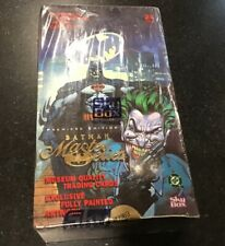 1996 Skybox Batman Master Series Premiere Edition card box FACTORY SEALED