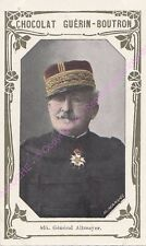 Chromo CHOCOLAT GUéRIN BOUTRON Général Altmayer 1 livre d or  n 464 /500