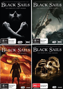 Black Sails Complete Seasons 1-4 : NEW DVD