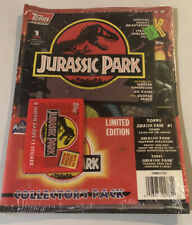 Jurassic Park Collector's Pack Limited Edition #1 Comic Book And Sealed Cards
