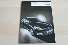 98113) Ford Mondeo - Black Magic - Prospekt 09/2009