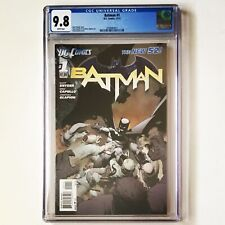 BATMAN #1 CGC 9.8 The New 52! DC Comics 1st PRINTING First 2011 - Freshly Graded