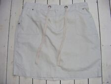 NATURAL Casual SKIRT Suzannegrae Size 18 NEW RRP$39.95 LINEN/COTTON Comfy Waist