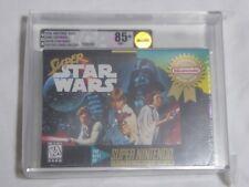 NEW Super Star Wars Super Nintendo Game VGA 85+ NM+ GOLD Graded SNES starwars