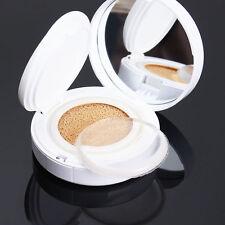 Clear Makeup 3Pcs  Silisponge Silicone Gel Foundation Puff Cosmetic Sponge Puff