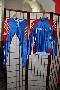 Ski Team Credit suisse Elastic ski wear jersey with Pants Adidas Equipment .ALY