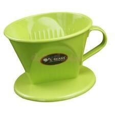 Coffee Maker Follicular Reusable Pour Over Coffee Tea Leaf Filtering Green