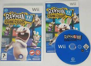 Rayman Raving Rabbids: TV Party (Nintendo Wii, 2008) EXCELLENT CONDITION