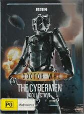 DOCTOR WHO - THE CYBERMEN COLLECTION, METAL TIN (DVD, REG 4 '09) DAVID TENNANT