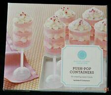 Martha Stewart Dessert Cake Push Pop Containers Sweet Treat  Cake Makers