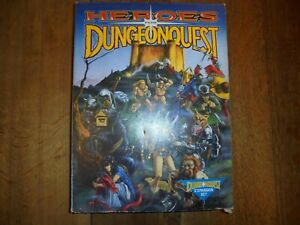 Heroes for Dungeonquest Board Game Expansion Set Games Workshop Rare Boxed Set