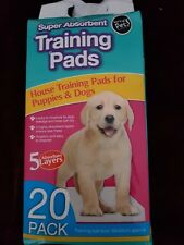 Puppy Training Pads 20 Pack Super Absorbent 60cm x 45cm