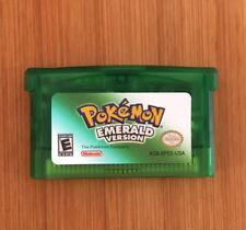 Custom Pokemon Emerald Nintendo Game Boy Advance GBA Game Cartridge - New!