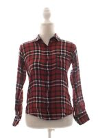 Rails Red Plaid Button Down Long Sleeve Shirt Size S Small