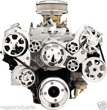 BILLET SPECIALTIES TRU TRAC PONTIAC 326-455 FRONT ENGINE KIT serpentine belt
