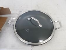 """12"""" Calphalon Signature Everyday Chef Pan Anodized Nonstick Covered Skillet"""