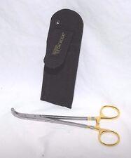 """Dr Slick Co. 8"""" Long Range Plier Forceps Fish Hook Disgorger & Belt Case Holster"""