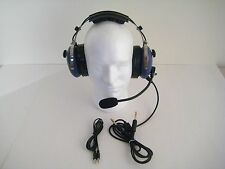 SL-900MC Blue SkyLite Aviation Child's Headset  Gel Seal with Flight Bag MP3
