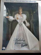 Elsa looking Holiday Visions Winter Fantasy 2003 Barbie Doll