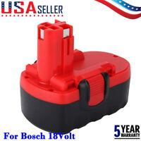 18Volt For Bosch BAT025 BAT026 BAT160 BAT180 BAT181 BAT189 18V Cordless Battery