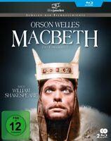 MACBETH (FILMJUWELEN) (2 BLU-RAYS) - WELLES,ORSON  2 BLU-RAY NEU