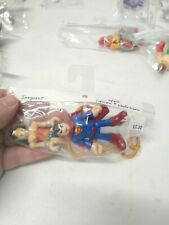 Fisher Price Imaginext DC Super Friends Wonder Woman and Superman figures Used