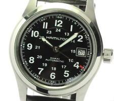 HAMILTON Khaki field H704450 Date black Dial Automatic Men's Watch_594526