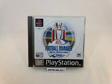 FOOTBALL MANAGER 2001 THE F.A. PREMIER LEAGUE PLAYSTATION 1 2 3 PS1 PAL COMPLETO