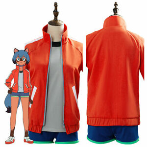 BNA BRAND NEW ANIMAL Kagemori Michiru Cosplay Costume Jacket Vest Pants Outfit