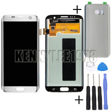 For Samsung Galaxy S7 Edge G935F lcd display touch screen Digitizer silver+cover