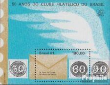 Brazil block47 fine used / cancelled 1981 Philatelistenklub