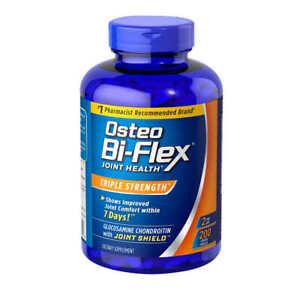 Sealed 200 tablets Osteo Bi-Flex Triple Strength Glucosamine MSM D3 EXP 04/2024!