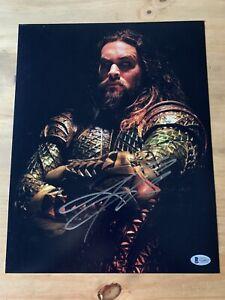 Jason Momoa Aquaman Autographed 11x14 w/ Beckett COA