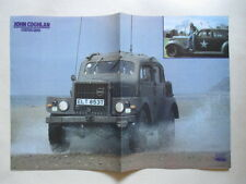 John Coghlan Status Quo Stonehenge POSTER Germany 1980s Jeep Military