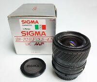 Sigma 28-70/3,5 -4 ,5 UC Mf Für Pentax Kpr